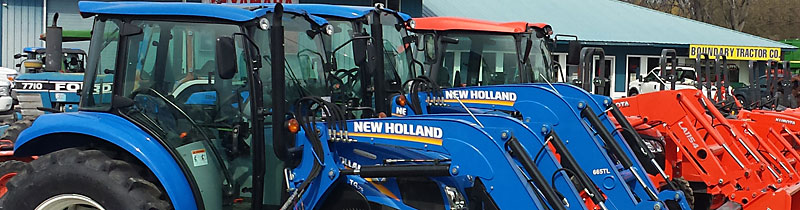 Boundary Tractor front