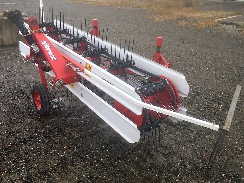 Sitrex GS220 belt rake