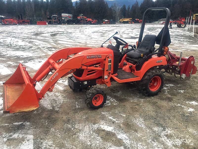 Kubota BX1850 Tractor with Loader